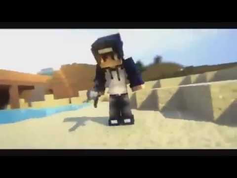 FREE  Minecraft İntro Template Skin is Change BLENDER!
