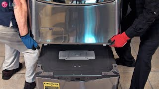 LG SideKick™ Washer - Installation