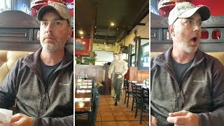 A Wife Took Her Husband For A 50th Birthday Meal  Then Two Men Approached And He Broke Down In Tears