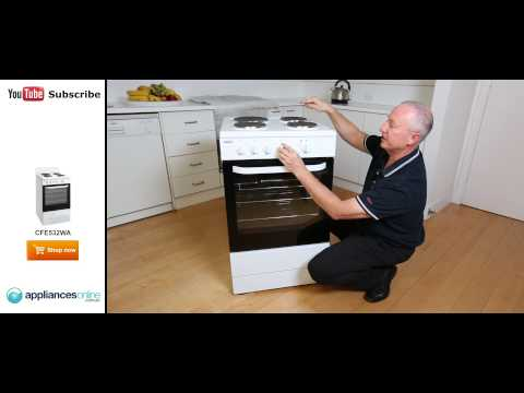 Expert reviews the Freestanding Chef Electric Oven Stove CFE532WA - Appliances Online