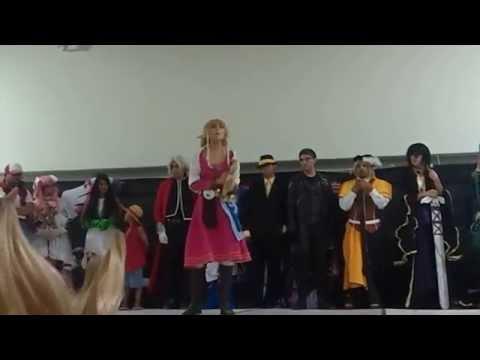 Zelda de The Legend of Zelda: Skyward Sword - Encuentro Anime Manga 2014
