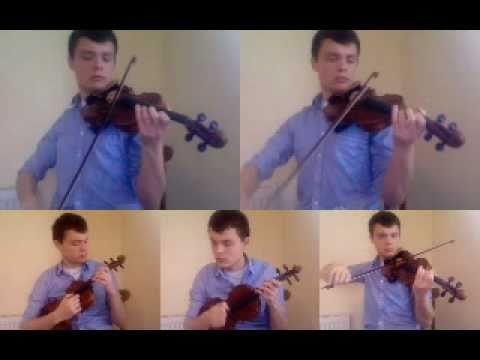 Clocks / Chicago (Coldplay / Sufjan Stevens) - Multi-Track Violin Mash-up
