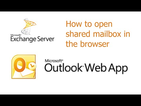OWA 2010, How to open shared mailbox in the browser