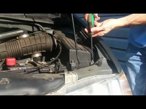 DIY Air Filter Replacement 2002 Honda Odyssey
