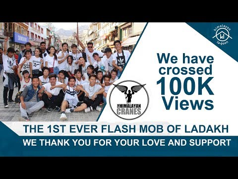 The 1st Ever Flash Mob of Ladakh