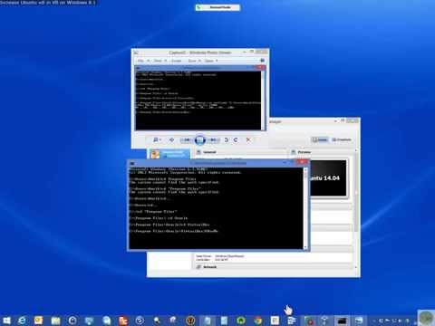 How I increased Ubuntu 14.04 vdi size in VB on Win 8.1