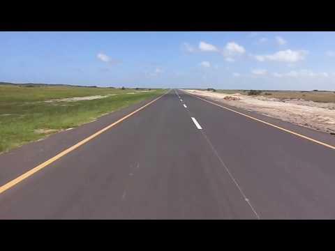 New tar road from Kosi Bay to Maputo and Ponta Do Ouro