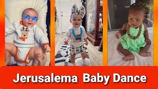Jerusalema Funny Baby Dance - Jerusalema Challenge Master KG Remix - Video Compilation