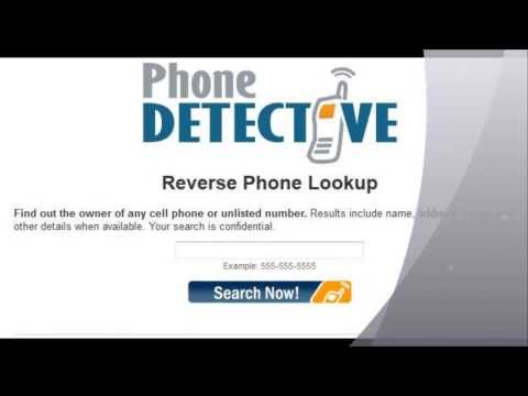 How To Trace A Phone Number - Reverse Trace Phone Number Service