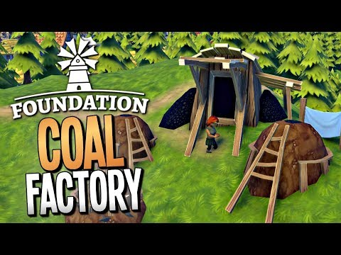 BURNING DOWN AN ENTIRE FOREST TO MAKE CHARCOAL - Foundation Gameplay