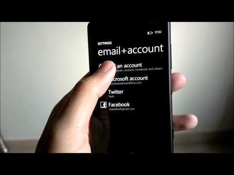 How To - Sync Google Contacts & Calendar with Windows Phone