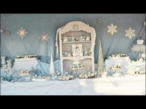 Stunning Winter wonderland party decorations ideas
