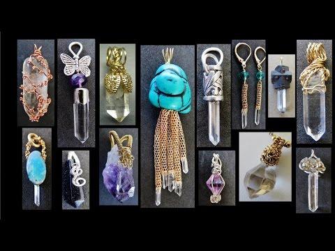 10 Crystal Pendants Design Ideas | Liz Kreate