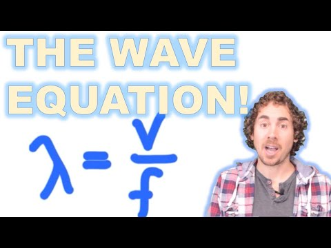 Using the Wave Equation (Wavelength, Speed and Frequency)