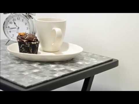 How to Make a Cool Mosaic Side Table in Under a Minute: Smart Mosaics