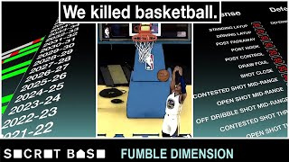 We destroyed the NBA's future with a video game | Fumble Dimension Episode 1