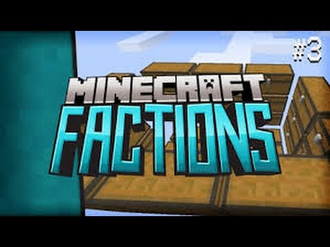 Mincraft Factions Lets Play:#3 HUGE Base build and Warp EVENT Pakour