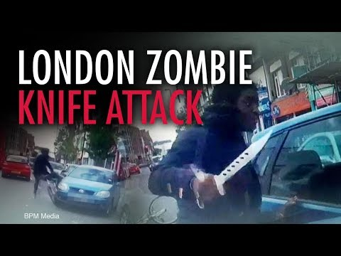 Zombie Knife Attack in London! | Jack Buckby