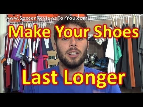 How To Make Your Soccer Cleats/Football Boots Last Longer