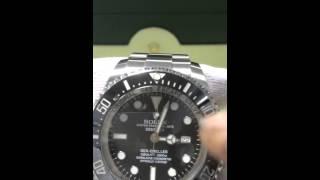 Rolex 116660  如何正確使用跟 時間 日期 正確校正