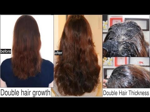 How to Double your Hair Growth & Thickness in 1 Month