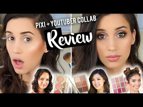 FULL REVIEW & DEMO on the Pixi Beauty Youtuber Collab Products