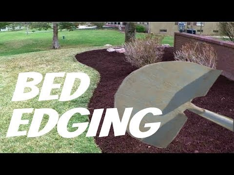 Landscape Flower Bed Edging Made Easy, Bulk Mulch, Lawn Care Vlog #4