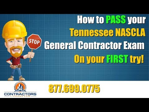 Tennessee General Contractor Exam Prep Course 🔨 🔨