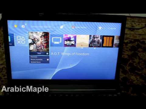 how to play ps4 offline on a laptop