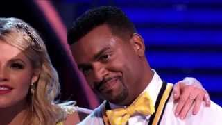 Alfonso Ribeiro & Witney Dwts