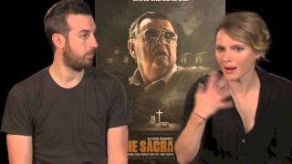 Download THE SACRAMENT Interview with Ti West & Amy Seimetz Video