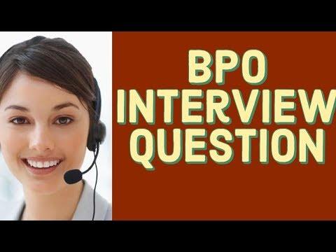 BPO Interview Question