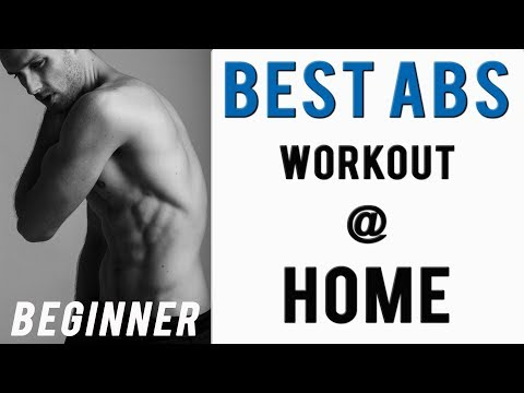 Basic Abs Workout At Home For Men (Beginner) - Male Model Workout
