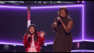 Angelica Hale, Kechi and Kelly Clarkson NAIL IT TOGETHER on America´s Got Talent 2017!