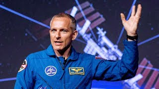Canadian astronaut David Saint-Jacques prepares to go to the International Space Station