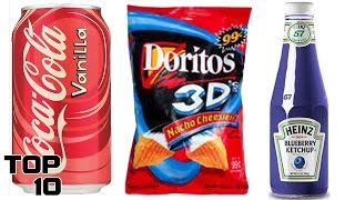 Top 10 Discontinued Food Items We Miss - Part 6