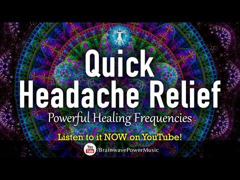 """Quick Headache Relief"" Powerful Entrainment Music: Feel & Breathe Better in 5 Minutes"