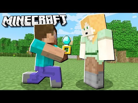 How to GET MARRIED in Minecraft!