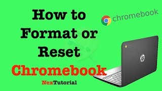 How to reset a Chromebook from the sign-in screen