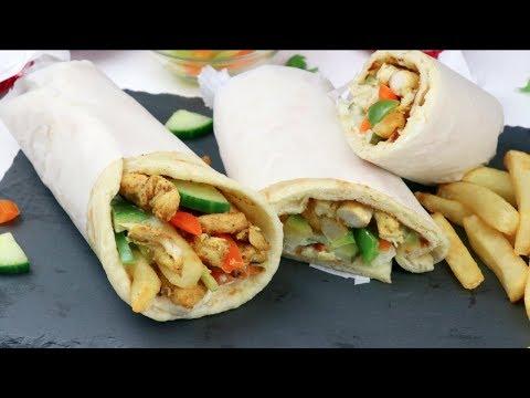 এরাবিয়ান চিকেন শর্মা | ইফতার রেসিপি |  Arabian Chicken Shawarma Recipe | Chicken Shawarma Bangla