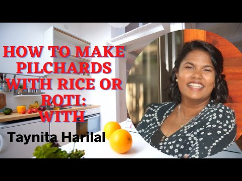 Pilchards with Rice or Roti