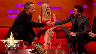 Tom Hanks Teaches Tom Holland How To Act   The Graham Norton Show