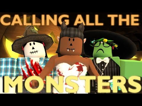 CALLING ALL THE MONSTERS - Halloween Special | Roblox Fan