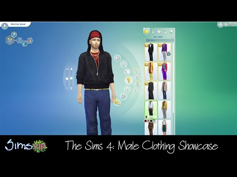 The Sims 4: Male Clothing Showcase