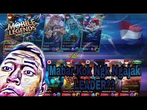 Tidak Bisa Apa-Apa Tanpa LEADER?? 🤔🤔 • Mobile Legends •