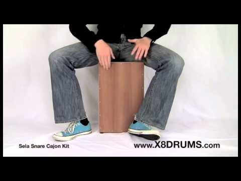 Sela Build Your Own Snare Cajon Kit - X8 DRUMS