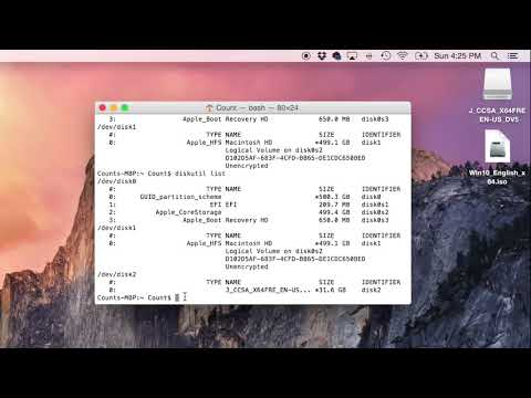 How to make a bootable windows cd on mac -