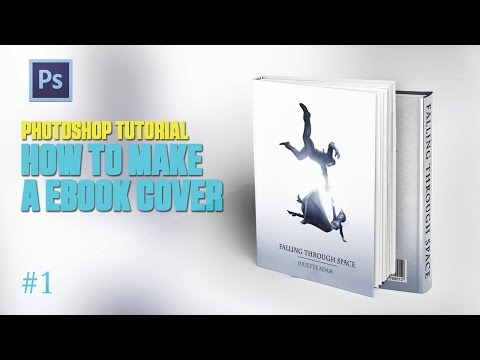 Photoshop Tutorial How To Make Ebook Cover #1