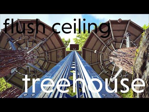 Ark Survival Evolved 34: flush ceiling for treehouses