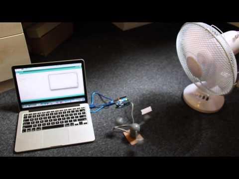 Wind speed sensor test(Tan)